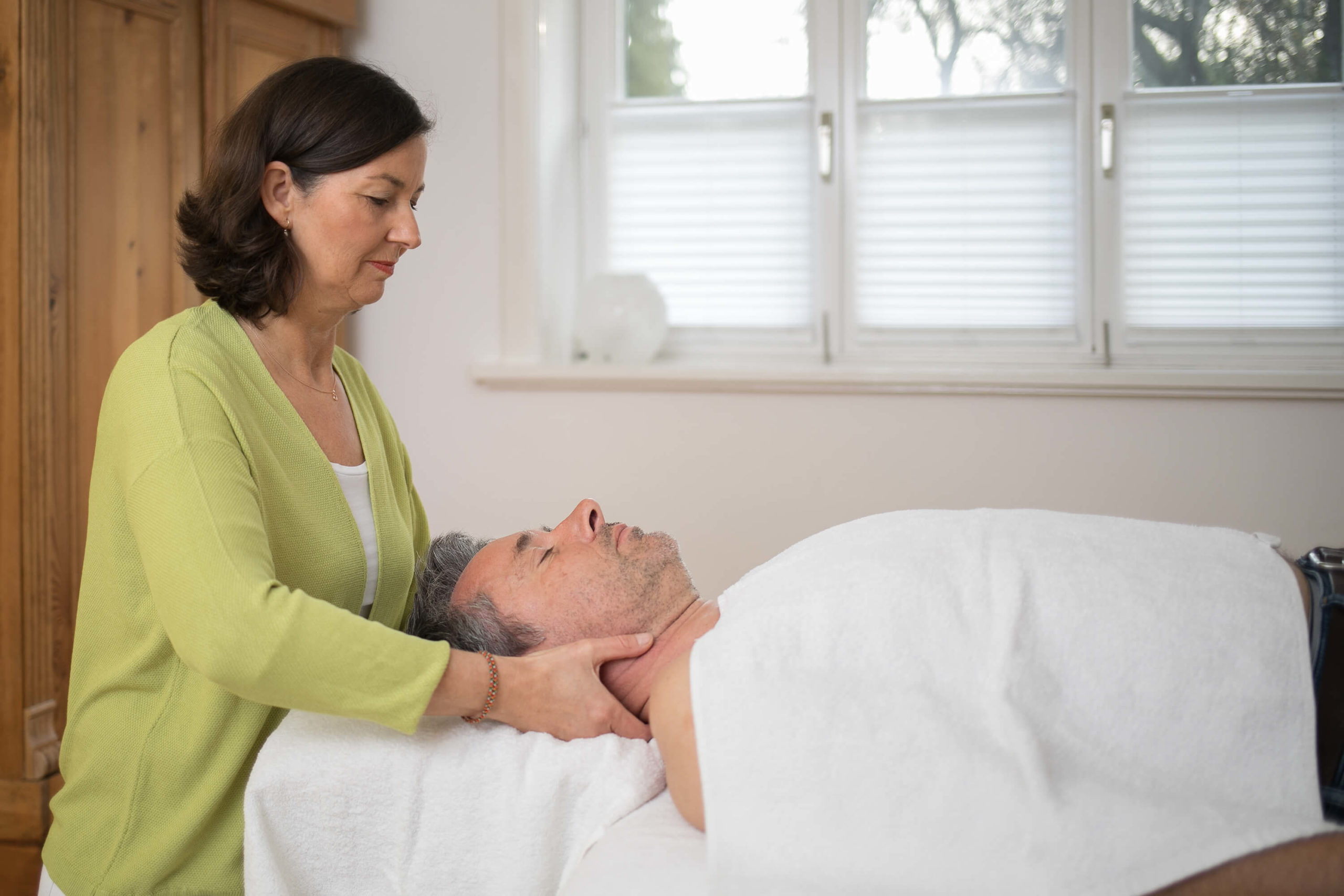 Nackenbehandlung Bowentherapie